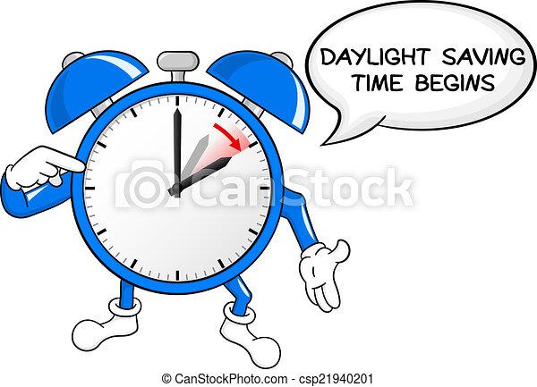światło dzienne, czas, alarm, zbawczy, zmiana, zegar - csp21940201