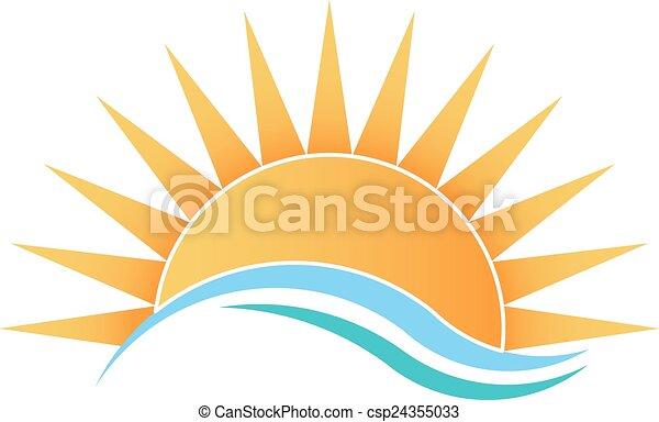 światło słoneczne, fale - csp24355033