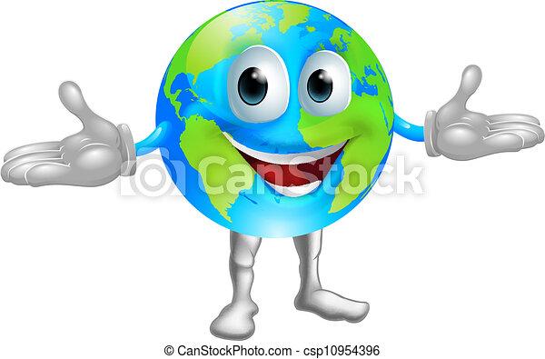 światowa kula, litera - csp10954396
