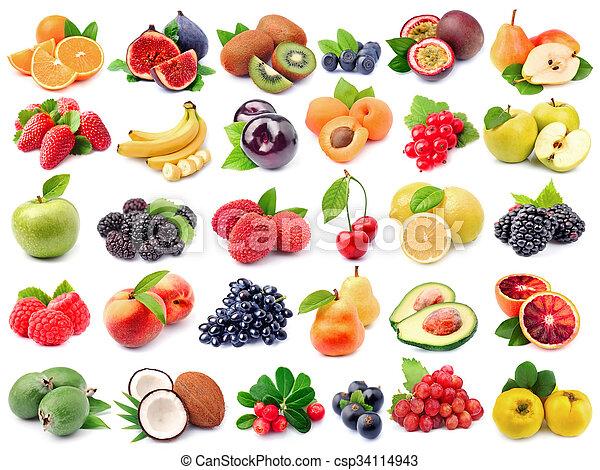 świeży owoc - csp34114943