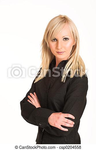 #293, kobieta handlowa - csp0204558
