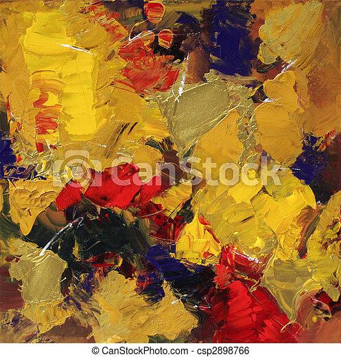 abstrakcyjna sztuka - csp2898766