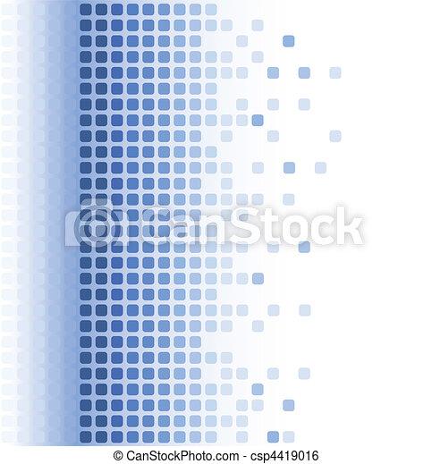 abstrakcyjny, mozaika, tło - csp4419016