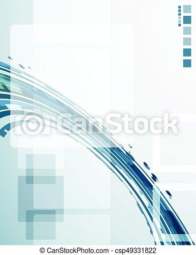 abstrakcyjny, tło, techniczny - csp49331822