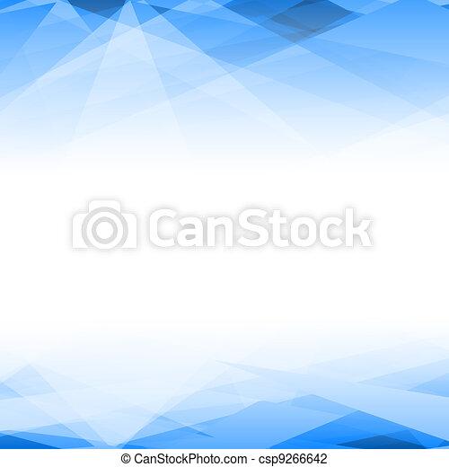 abstrakcyjny, wektor, tło - csp9266642