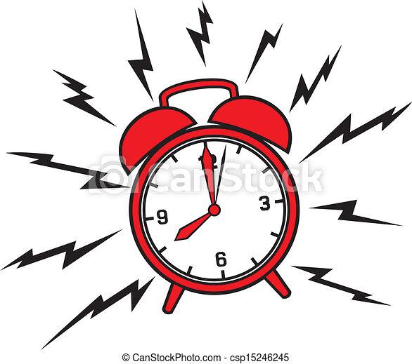 alarm, klasyk, zegar - csp15246245