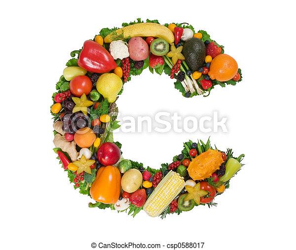 alfabet, zdrowie - csp0588017