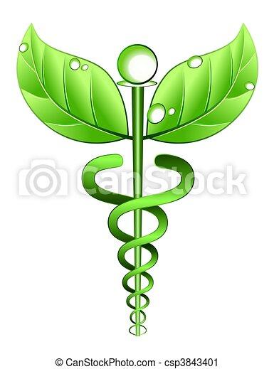 alternatywa, symbol, medycyna - csp3843401