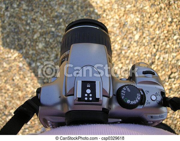 aparat fotograficzny, slr - csp0329618
