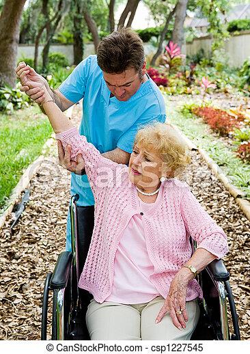 artretyzm, fizyczny, -, terapia - csp1227545