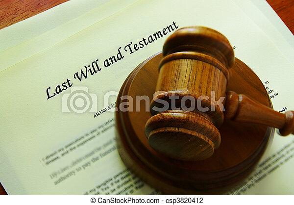 będzie, gavel, (legal, prawny, documents) - csp3820412