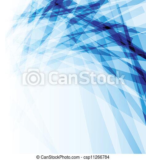 błękitny, abstrakcyjny, handlowy, broszura, tło - csp11266784