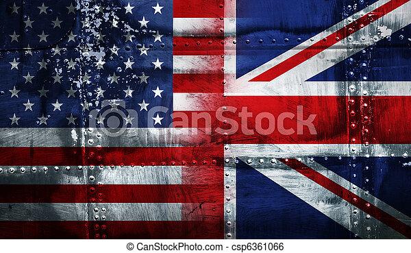 bandera, uk, usa - csp6361066