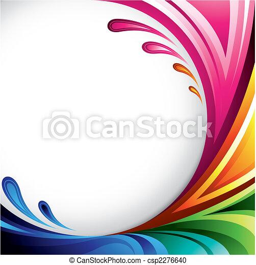 barwny, tło - csp2276640