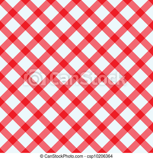 biały, tablecloth, czerwony - csp10206364