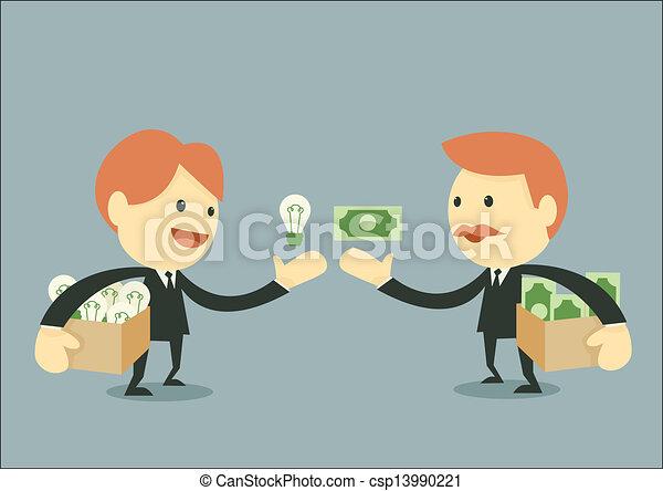 biznesmen, handlarski - csp13990221