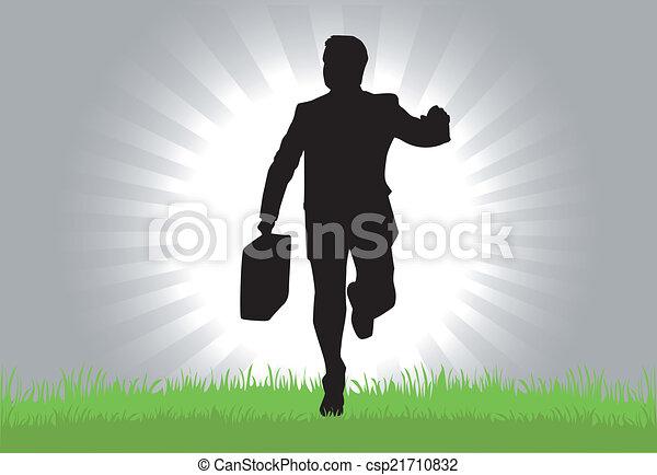 biznesmen - csp21710832