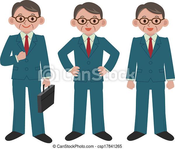 biznesmen - csp17841265