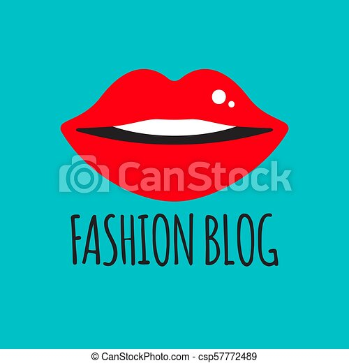 blogger, fason, logo - csp57772489