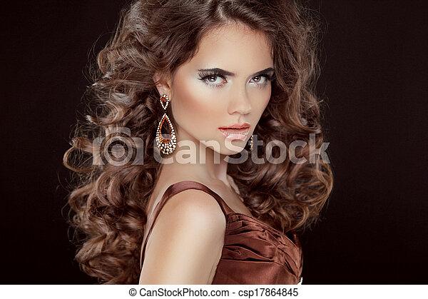 Hair sexy woman