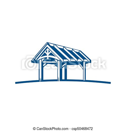 budulec, logo, drewno - csp50468472
