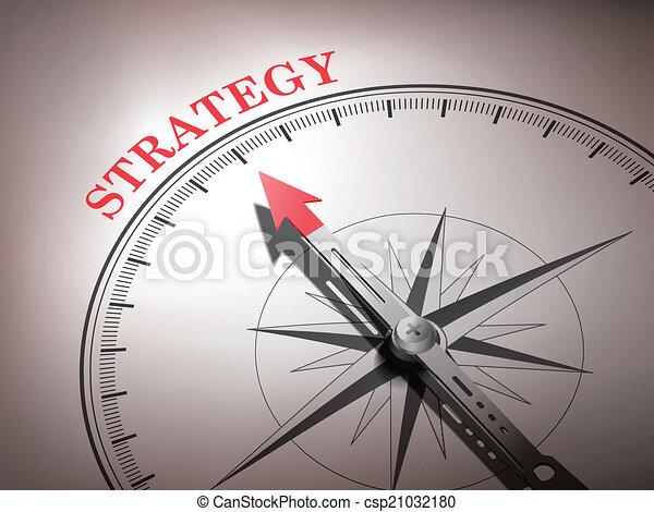 busola, abstrakcyjny, igła, spoinowanie, strategia, słowo - csp21032180