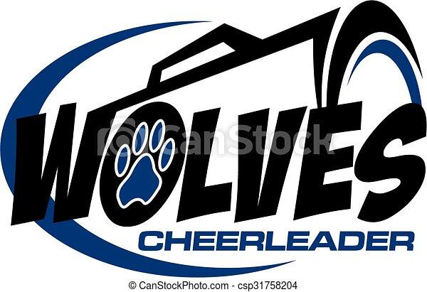 cheerleader, wolves - csp31758204