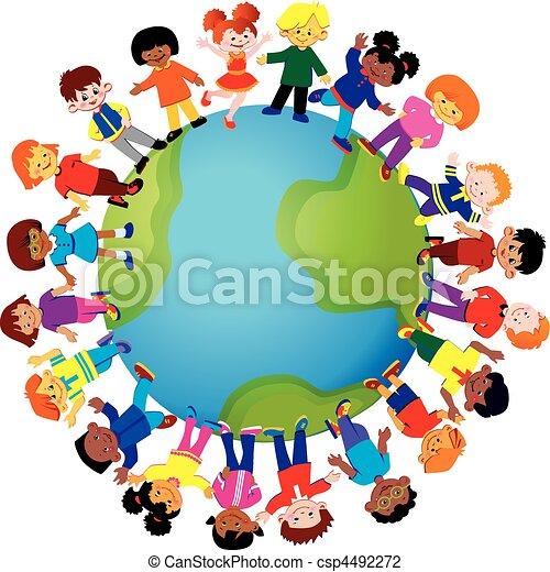 children., szczęśliwy - csp4492272