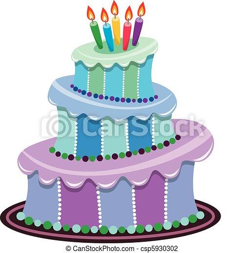 ciastko, cielna, urodziny - csp5930302