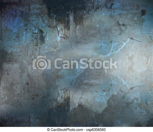 ciemny, abstrakcyjny, grunge, tło, textured - csp6306560
