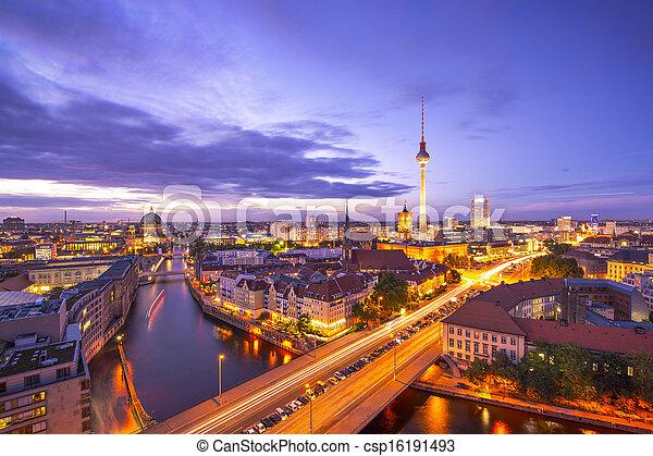cityscape, berlin - csp16191493