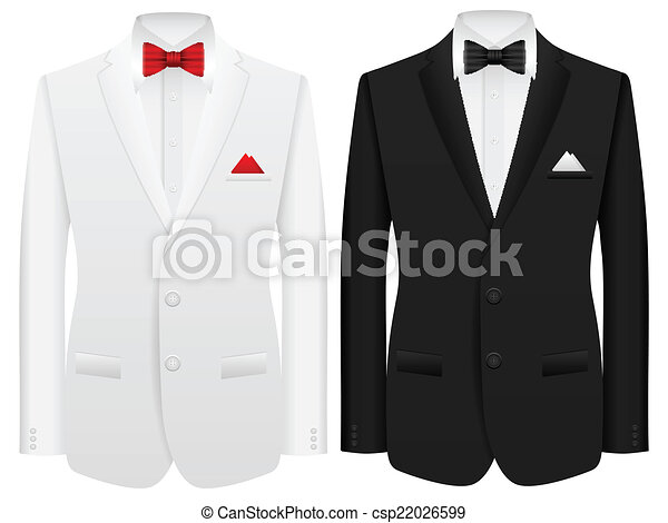 człowiek, garnitur - csp22026599