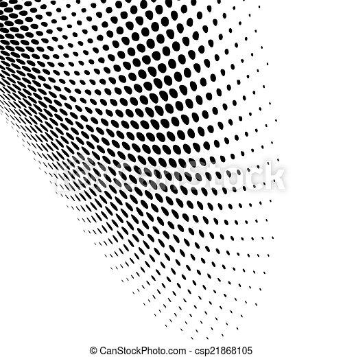 czarnoskóry, nowoczesny, projektować, kropkowany - csp21868105
