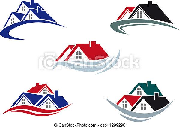 dachy, dom - csp11299296
