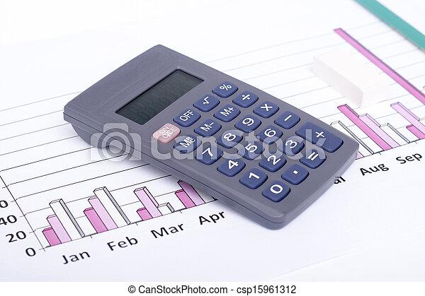 dane, analizując, finansowy - csp15961312