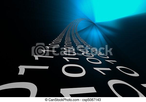 dane cieknięcie, tło - csp5087143