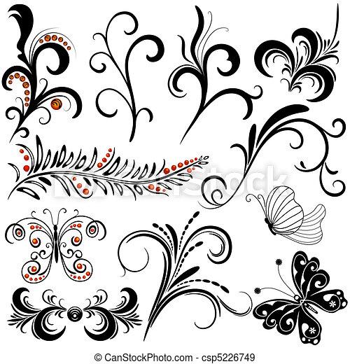 dekoracyjne elementy, projektować - csp5226749