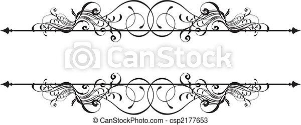 dekoracyjny, chorągiew, piękno - csp2177653