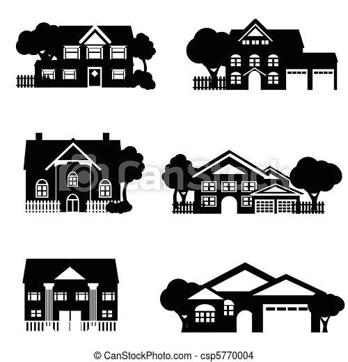 domy, jednorazowa rodzina - csp5770004