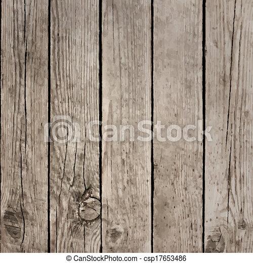 drewno, wektor, deski, struktura, podłoga - csp17653486