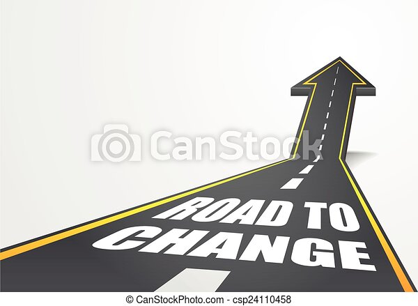 droga, zmiana - csp24110458