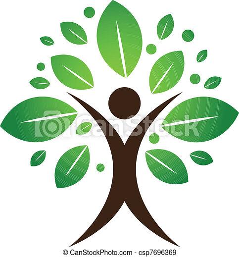 drzewo, ludzki - csp7696369