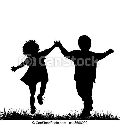 dzieci bieg - csp5666223