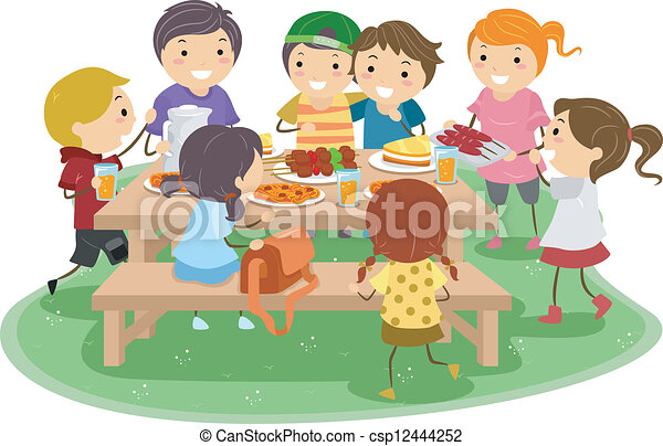 dzieciaki, piknik - csp12444252