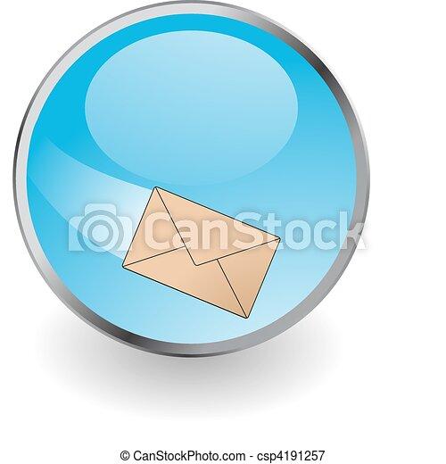 e-poczta, guzik - csp4191257