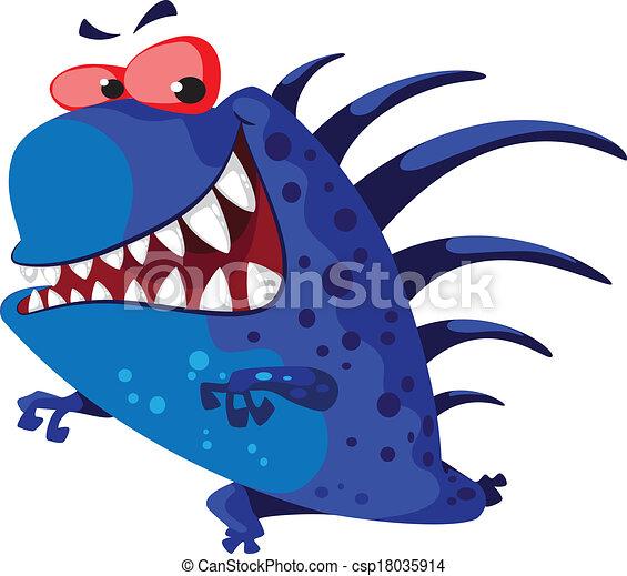 echinate, potwór - csp18035914