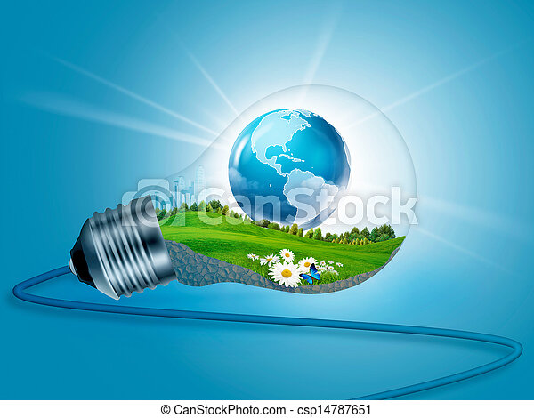eco, energia, tła, wewnątrz w domu., abstrakcyjny zamiar, twój - csp14787651