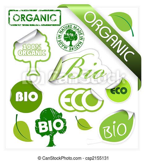 eco, komplet, elementy, organiczny, bio - csp2155131