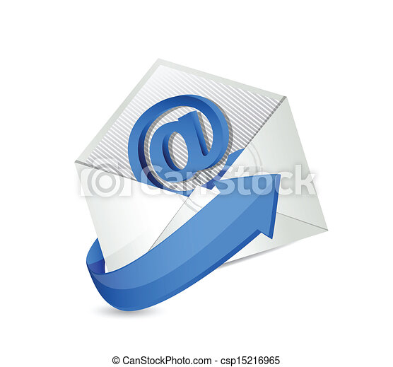 email., kontakt, mail., na, ilustracja - csp15216965