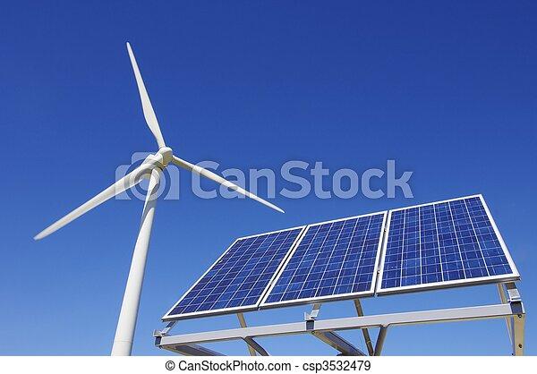 energia, odnawialny - csp3532479